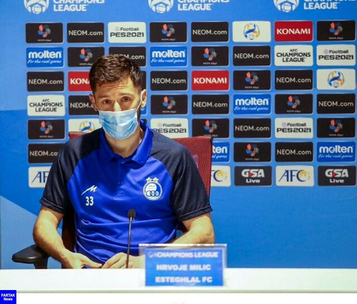 باشگاه استقلال از میلیچ شکایت میکند
