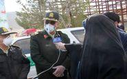 اختصاص 400 هزار لیتر موادضدعفونی برای گندزدایی معابر توسط پلیس کرمانشاه