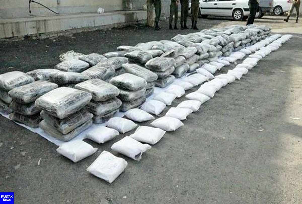 یک تن انواع مواد مخدر در خراسان جنوبی کشف شد