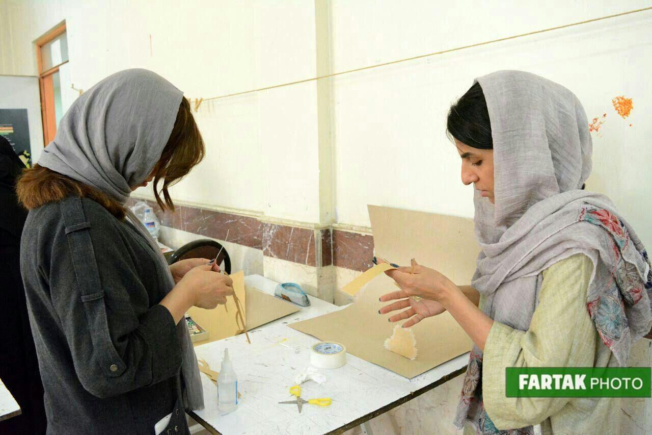 برگزاری کارگاه عملی تصویرسازی با عروسکها با حضور هدی عظیمی