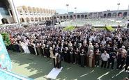 برگزاری نماز عید سعید فطر در سراسر کشور