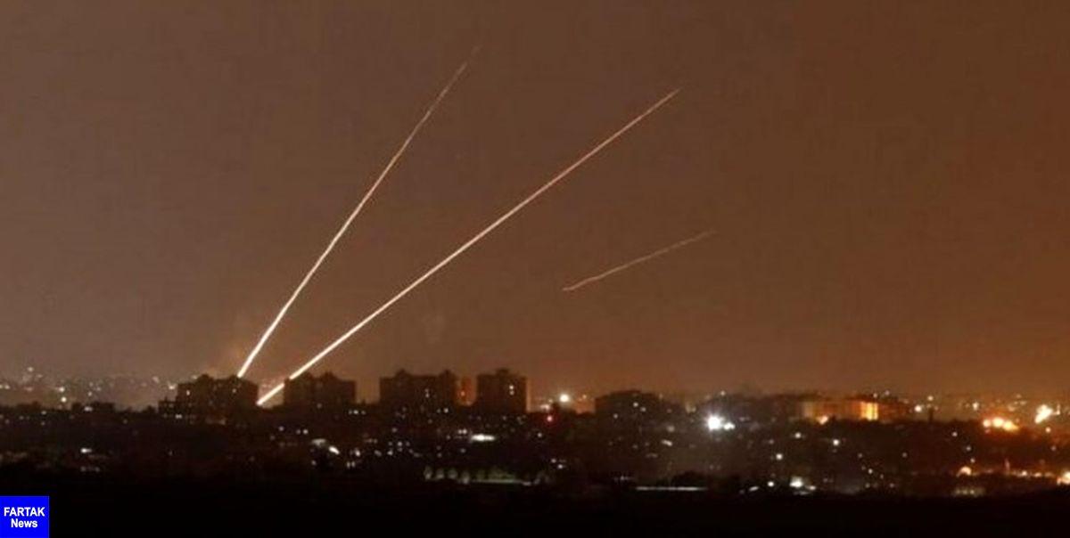 به صدا در آمدن آژیر خطر در تمامی شهرکهای صهیونیستی اطراف غزه