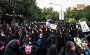 راهپیمایی باشکوه مردم قم در حمایت از عفاف و حجاب برگزار شد