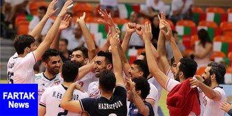 برنامه بازیهای تیم ملی والیبال ایران در آمریکا