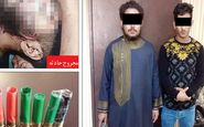 2 شرور خارجی در مشهد به دام پلیس افتادند