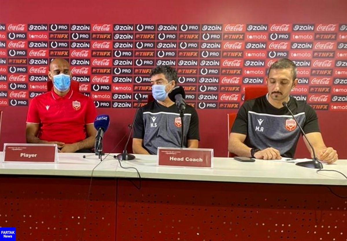 سرمربی بحرین: ایران از بازیکنانی که در سرتاسر دنیا بازی میکنند، بهره میبرد