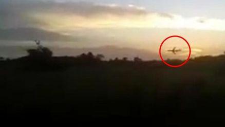 سقوط هواپیمای مسافربری ثانیه ای پس از تیکاف+تصاویر