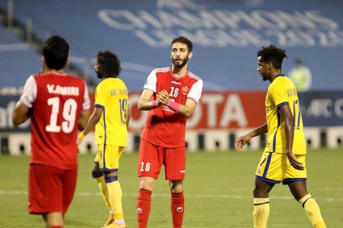 شکایت از پرسپولیس به AFC به امید تغییر نتیجه!