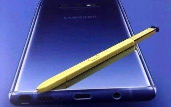پنل پشت گلکسی نوت 9 از روی تصویر جعبه گوشی لو رفت +تصویر