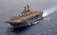 اعزام کشتی تهاجمی آمریکا به غرب آسیا