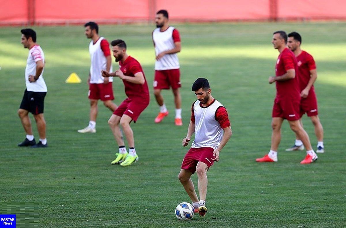 گزارش تمرین پرسپولیس| تاکید گلمحمدی بر انجام صحیح تاکتیکهای تیمی