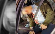 جسد ترسناک میلیاردار سرشناس در ماشین لاکچری ! + عکس 16+