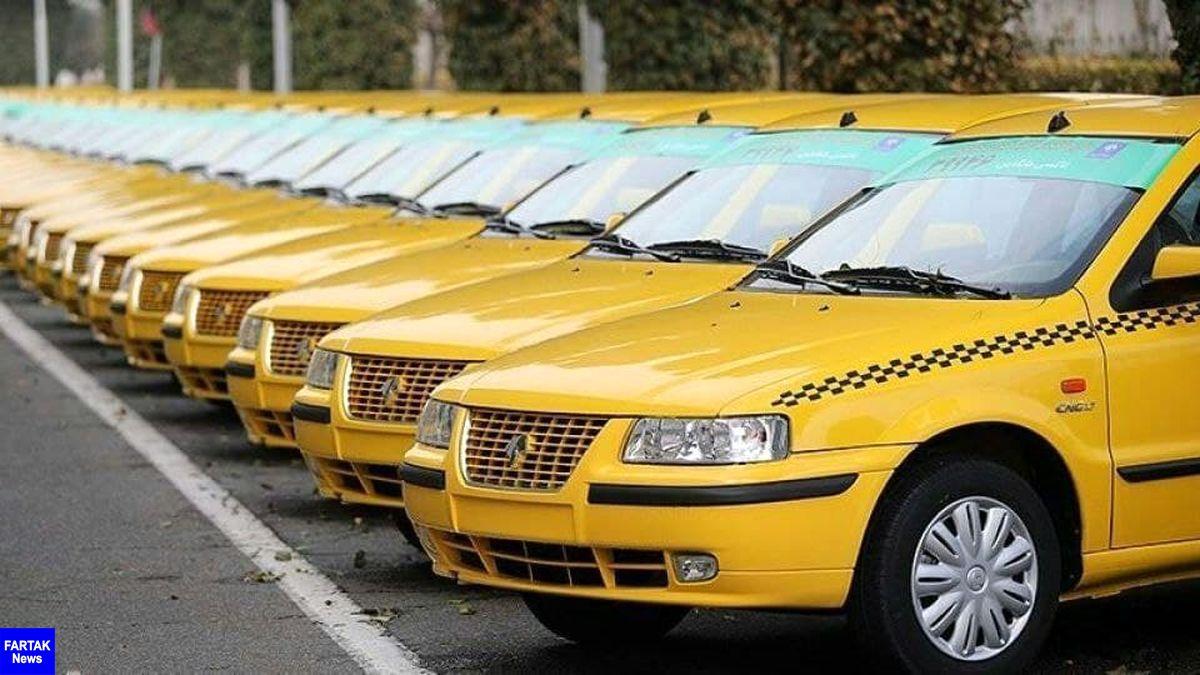 نوسازی ۳۳۹ دستگاه تاکسی در کرمانشاه