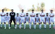 ترکیب تیم فوتبال امید برای دیدار با لبنان مشخص شد