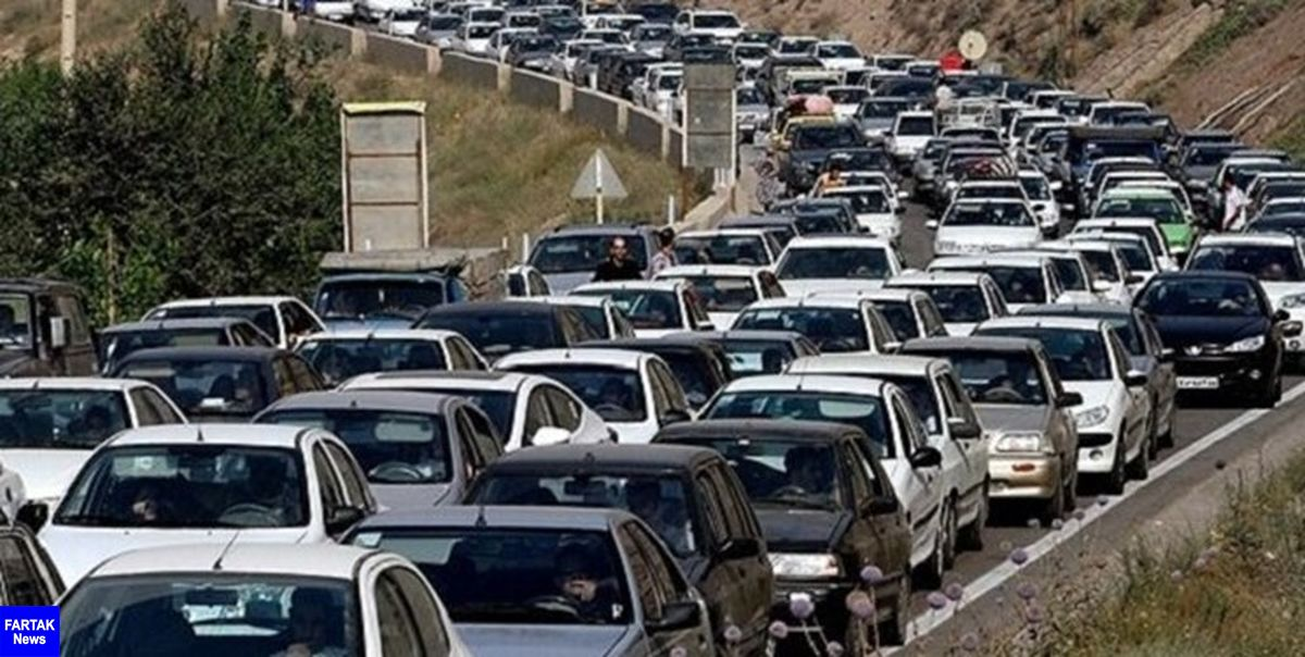 هراز یکطرفه شد/ ترافیک فوق سنگین در ورودیهای شرقی پایتخت