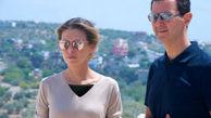 همسر بشار اسد پس از شیمی درمانی