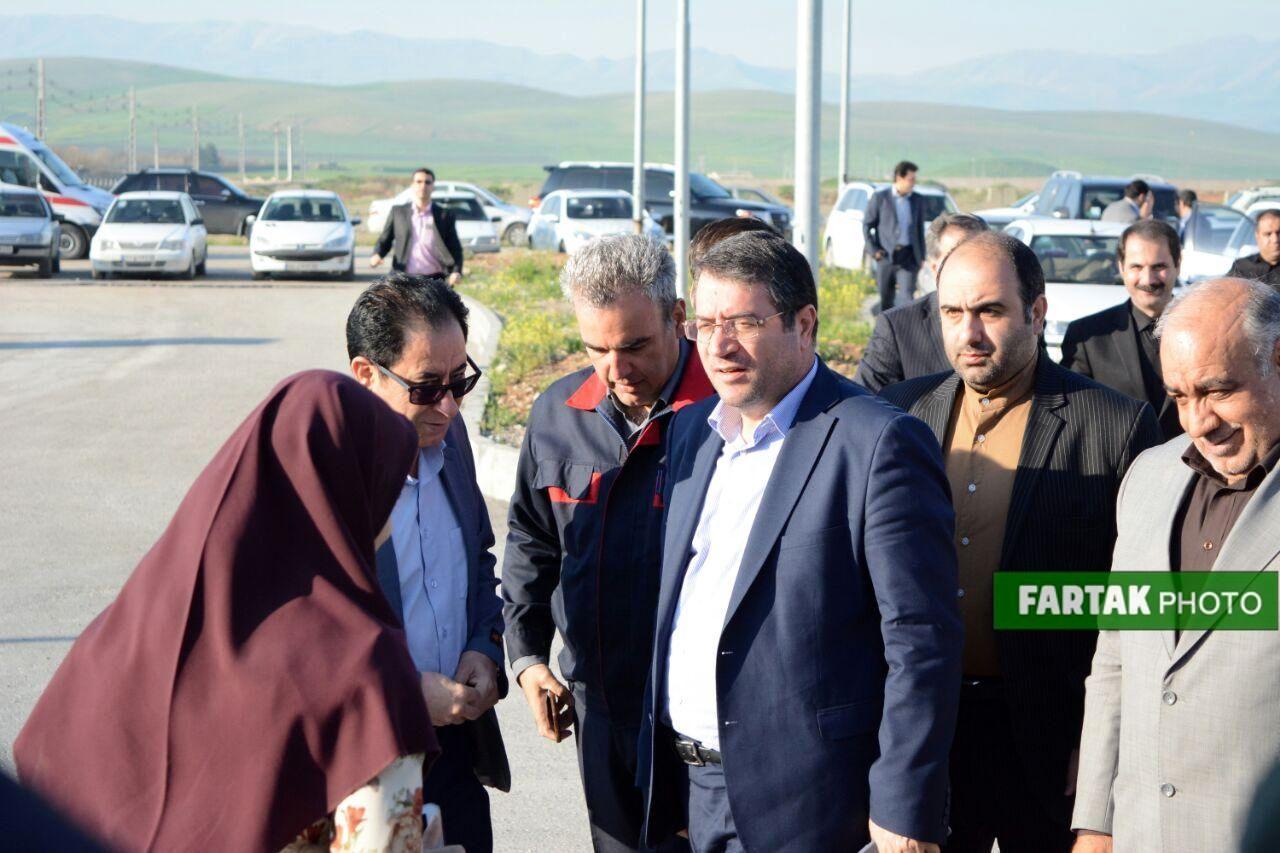 بازدید وزیر صمت و اشستاندار کرمانشاه از قوطیسازی زمزم
