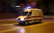 تیم فوتسال آذرخش دچار سانحه رانندگی شد