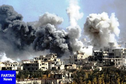 روسیه یک انبار تسلیحات تروریستی در سوریه را نابود کرد