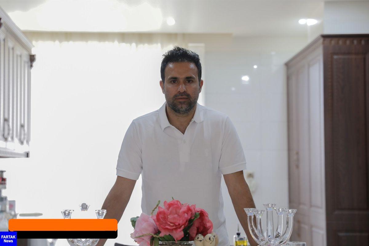 محمد نصرتی: داور گفت نیمکت هر تیمی اعتراض کند، به بزرگتر تیم کارت می دهم!