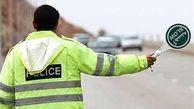 محورهای استان لغزنده است، رانندگان احتیاط کنند
