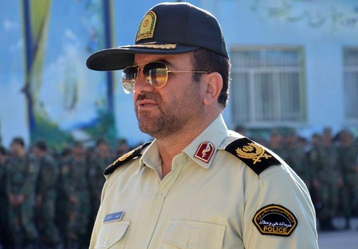 """سردار """"منوچهر امان اللهی"""" فرمانده انتظامی چهارمحال و بختیاری شد"""