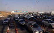 ترافیک فوق سنگین و پرحجم در تمامی محورهای شرق استان تهران