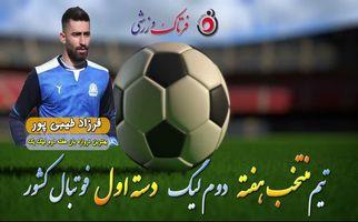 فرزاد طیبیپور؛ بهترین دروازهبان هفته دوم لیگ یک