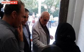 بازدید دکتر الهی تبار از غرفه ها در اولین جشنواره میوه های بهشتی + فیلم