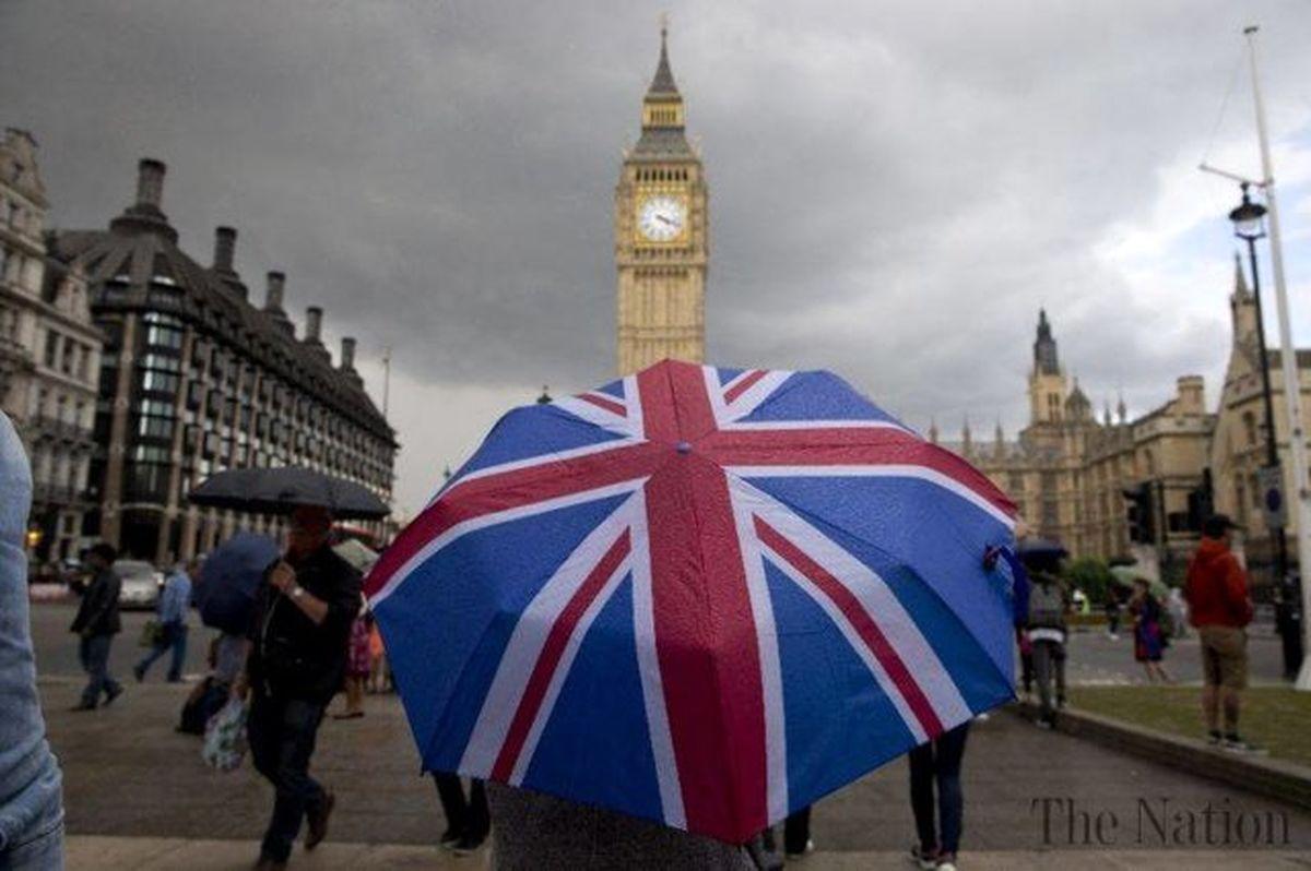 اقتصاد انگلیس آب رفت