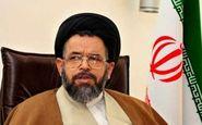 پیام وزیر اطلاعات به امام جمعه ایلام