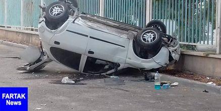 تصادف جان رفتگر ۲۹ ساله شهرداری را گرفت