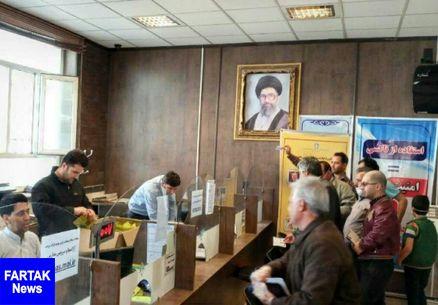 تهیه و توزیع ماسک بین رانندگان تاکسی کرمانشاه