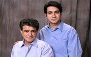 عکس قدیمی، زیرخاکی و کمیاب محمدرضا شجریان و کودکی پسرش همایون