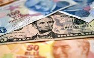 کاهش ارزش لیر در مقابل دلار