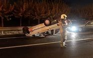 تصادف مرگبار در محور داریون-شیراز ۸ کشته و زخمی برجا گذاشت