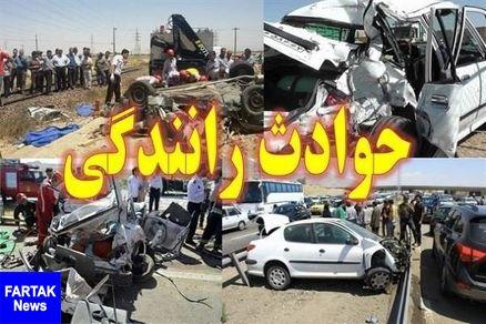برخورد کامیون با پژو در قم 8 کشته و مجروح برجا گذاشت