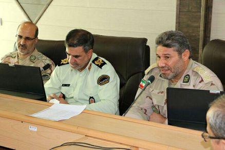 نیروهای انتظامی و مرزبانی آماده خدمتگذاری به زائران اربعین هستند