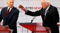 سندرز: قصد ندارم از رقابت با جو بایدن کنارهگیری کنم