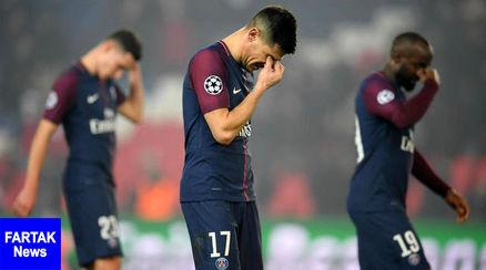 بازهم تاخیر در قهرمانی PSG, شکست سنگین و تحقیر آمیز تیم توخل