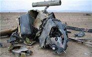 یک جنگنده ناشناس در شمال سوریه سقوط کرد