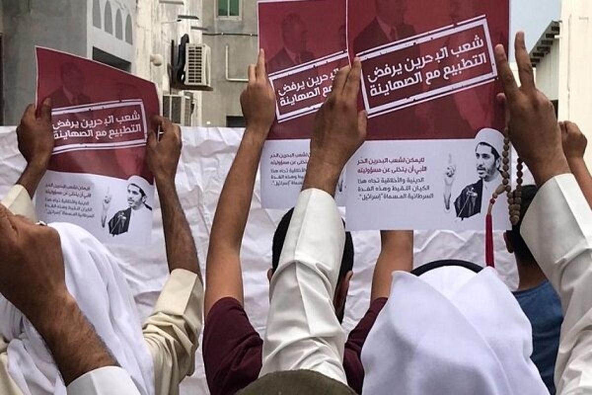 بحرینی ها خواستار ساقط شدن رژیم آل خلیفه