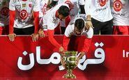 پرسپولیسیها جام قهرمانی لیگ برتر را بالای سر بردند