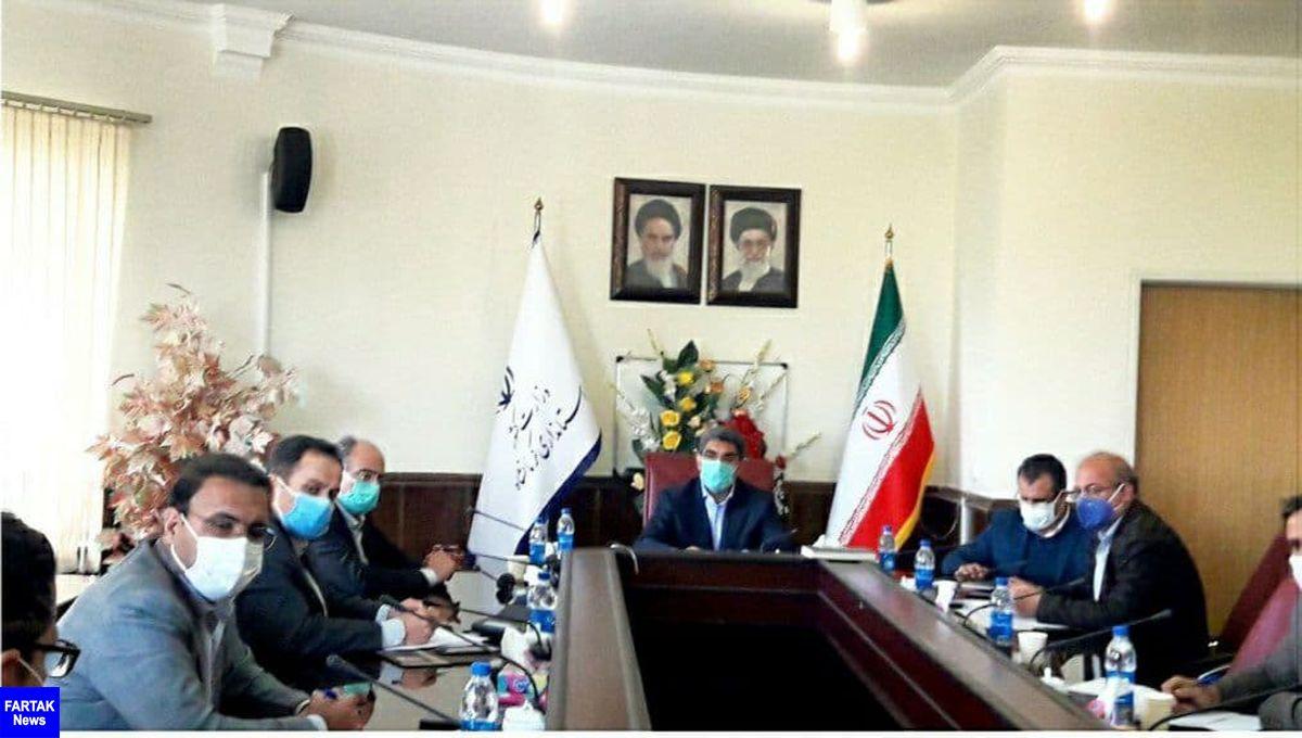 برگزاری نشست مشترک تیم اقتصادی استانداری کرمانشاه با سرمایهگذاران آلمانی