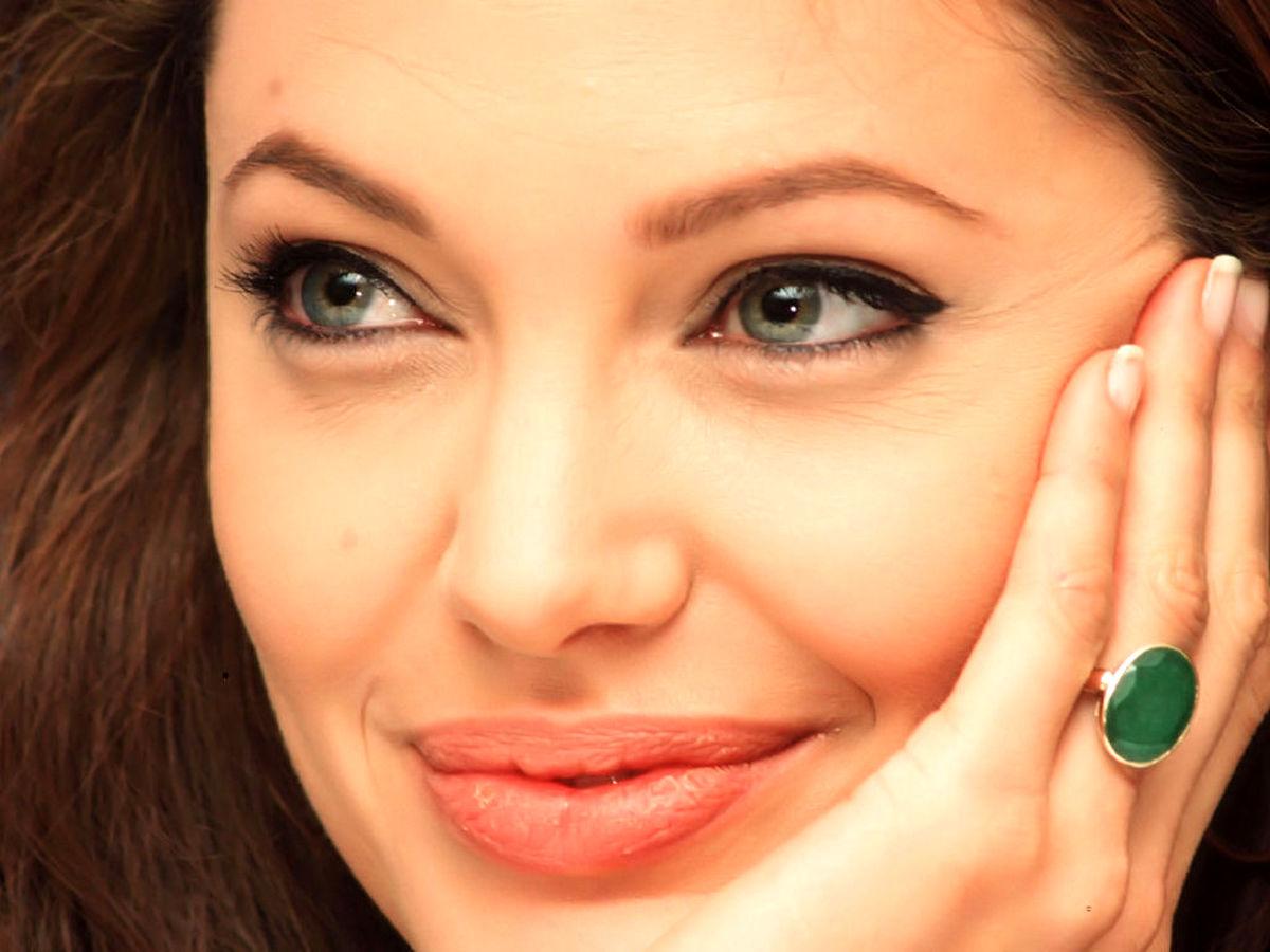 شباهت عجیب و باور نکردنی این دختر ایرانی به آنجلینا جولی