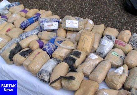 ۵۸ کیلوگرم مواد مخدر در بجستان کشف شد