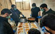 طبخ و توزیع ۱۲۰۰ پرس غذای گرم در قالب طرح شهیدسلیمانی