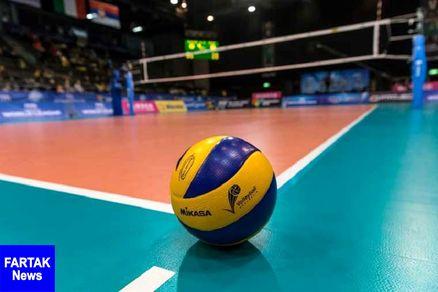 روز دوم مسابقات والیبال جوانان کشور در قزوین پیگیری شد