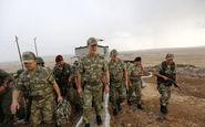 بازدید وزیر دفاع ترکیه از نزدیکی مرزهای سوریه