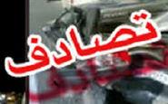 مصدومیت ۱۱ نفر بر اثر برخورد مینیبوس با تریلی در مشهد